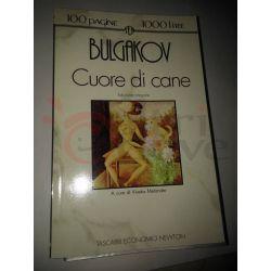 Cuore di cane  BULGAKOV Michail Afanasevic  101 pagine 1000 lire Newton Vintage