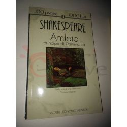 Amleto principe di Danimarca  SHAKESPEARE William  100 pagine 1000 lire Newton Vintage