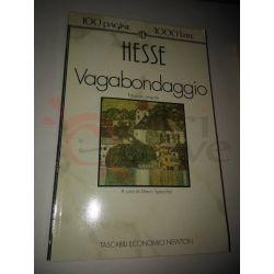 Vagabondaggio  HESSE Hermann  100 pagine 1000 lire Newton Vintage
