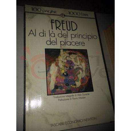 Al di là del principio del piacere  FREUD Sigmund  100 pagine 1000 lire Newton Vintage