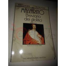 Breviario dei politici  MAZZARINO Giulio  100 pagine 1000 lire Newton Vintage