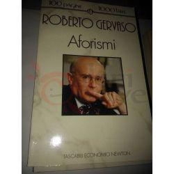 Aforismi  GERVASO Roberto  100 pagine 1000 lire Newton Vintage