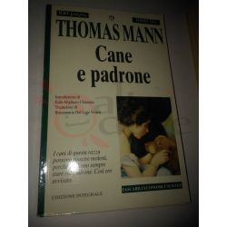 Cane e padrone  MANN Thomas  100 pagine 1000 lire Newton Vintage