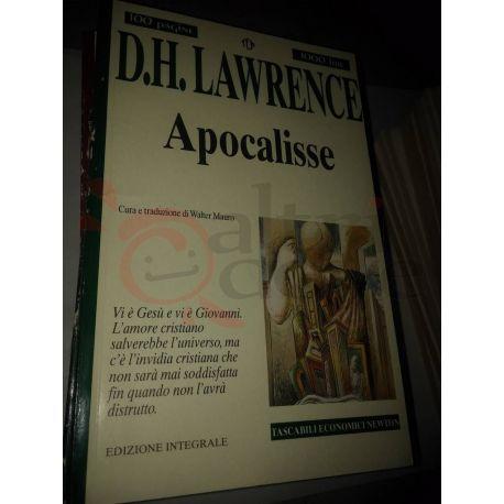 Apocalisse  LAWRENCE David Herbert  100 pagine 1000 lire Newton Vintage