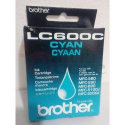 BROTHER LC600C Cyan ciano ORIGINALE     Cartuccia stampante Tech