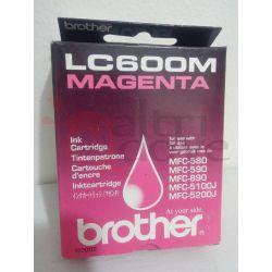 BROTHER LC600M Magenta ORIGINALE     Cartuccia stampante Tech