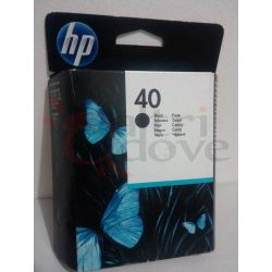 HP 40 black nero ORIGINALE     Cartuccia stampante Tech
