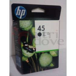 HP 45 black nero ORIGINALE     Cartuccia stampante Tech