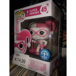 Batman Arkham Knight Harley Quinn Pink 9 cm 45   POP Heroes Funko Action Figure