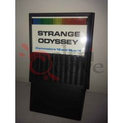 Strange Odyssey - Cartuccia gioco    C16 e Plus/4 Commodore Tech