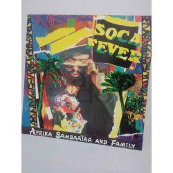 Afrika bambaataa and Family - Soca Fever     33 giri  Vinile