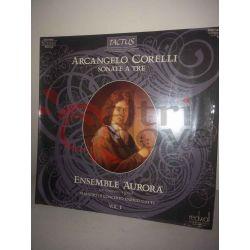 Arcangelo Corelli Sonata a tre - Ensemble Aurora     33 giri DMM Vinile