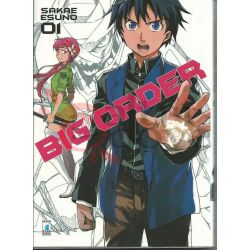 Big Order - sequenza Da 1 a 8 ESUNO Sakae  Zero Star Comics Giapponesi