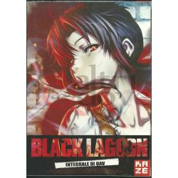 Black Lagoon integrale di OAV box 2dvd     Kaze DVD