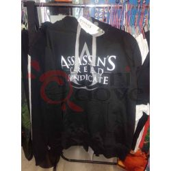 Felpa con cappuccio Assassin's Creed (nera)    Assassin's Creed  Magliette