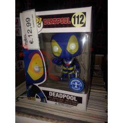 Deadpool  (underground toys exclusive) 112   POP Marvel Bobble-Head Funko Action Figure