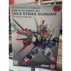 Aile Strike Gundam GAT-X105+AQM/E-X01 SD   GunPLa 1/144 Bandai Scatola Di Montaggio