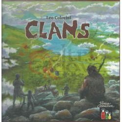 Clans     Venice Connection Italia S.R.L. Boardgame