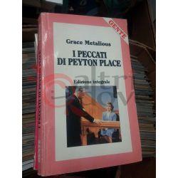 I peccati di Peyton Place  METALIOUS Grace   GENTE Gialli