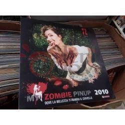 Zombie Pinup 2010 dove la bellezza ti mangia il cervello     Saldapress Parete