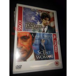 Al Pacino and justice for all e Scent of a woman    ICONS  DVD