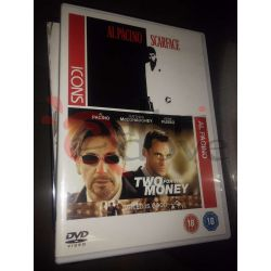 Al Pacino Scarface e Two for the money    ICONS  DVD