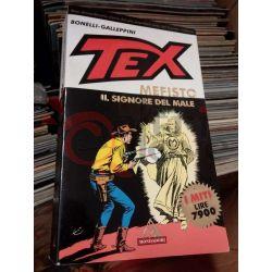 TEX Mefisto il signore del male  Bonelli – Galeppini  I MITI Mondadori Italiani