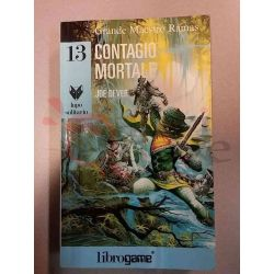 Contagio Mortale 13 DEVER Joe  Lupo Solitario Ed. E. Elle-Trieste Librogame