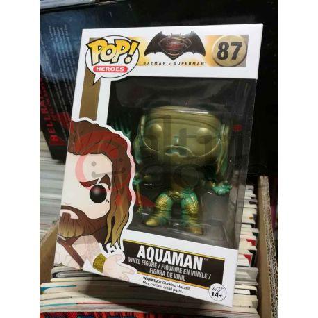 Aquaman 87   POP Heroes Funko Action Figure