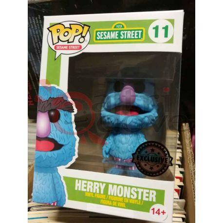 Herry Monster 11   POP Sesame Street Funko Action Figure