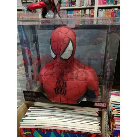 Spider-Man mezzobusto salvadanaio h. cm.17  20  Marvel Semic Distribution Action Figure