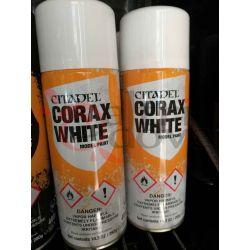 Corax white spray global    Citadel paint Games Workshop Scatola Di Montaggio