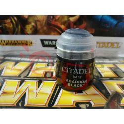 Abaddon black 12 ml.    Citadel paint Games Workshop Scatola Di Montaggio