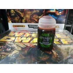 Agrax earthshade 24 ml.    Citadel paint Games Workshop Scatola Di Montaggio