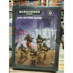 Astra Militarum Cadians    Warhammer 40k Games Workshop Scatola Di Montaggio