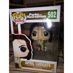 April Ludgate 502   POP Television Funko Action Figure