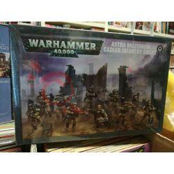 Astra militarum Cadian infantry squad    Warhammer 40k Games Workshop Scatola Di Montaggio