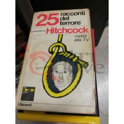 25 racconti del terrore  Hitchchock Alfred   Garzanti Romanzo