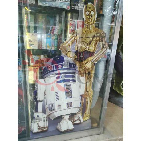 Star Wars: Droidi sagoma scala 1:1 cutout    Star Wars  Action Figure