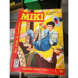 Gli Albi di Capitan Miki settimanale L.30 16    Casa Editrice Dardo Italiani