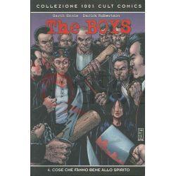 The Boys: Cose Che Fanno Bene Allo Spirito 4  ROBERTSON Darrick Collezione 100% Cult Comics Nr. 60 Panini Comics Americani