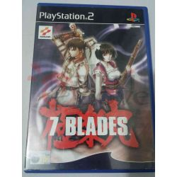 7 Blades    Pal Konami Playstation 2