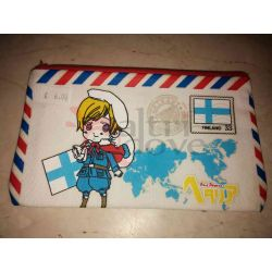 Astuccio Anime Hetalia: Axis Powers - Finland      Borse