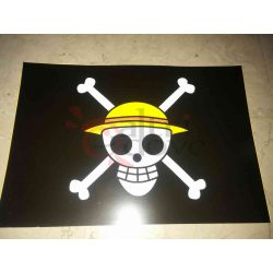 One Piece - WANTED Poster - Jolly Roger     Hong Comic Studio Parete