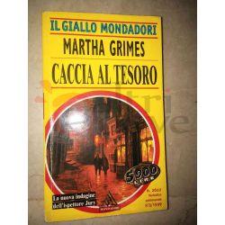 Caccia al tesoro 2622 GRIMES Martha  Il Giallo Mondadori Mondadori Gialli