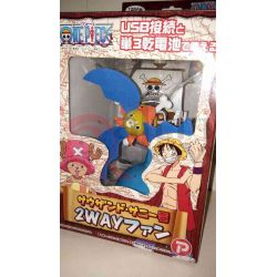One Piece Nave Thousand Sunny Ventilatore Usb     Plex Action Figure