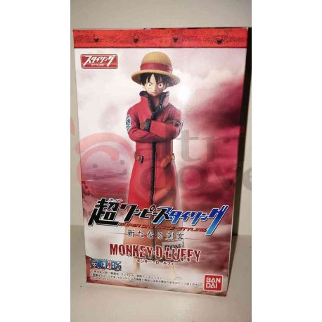 Super One Piece Styling - Monkey.D.Luffy     Bandai Action Figure