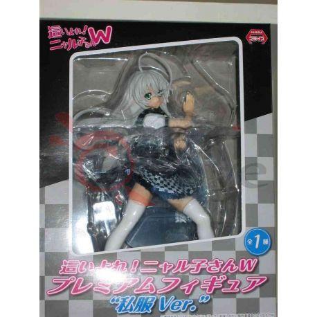 Haiyore! Nyaruko San W Premium Figure - Black Version     Jamma Action Figure