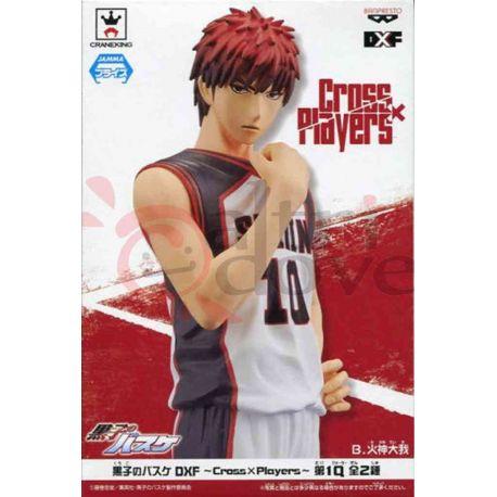 Kuroko No Basket Cross X Players - Taiga Kagami     Banpresto Action Figure