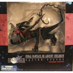 Final Fantasy Vii Advent Children - Shadow Creeper     Artfx Action Figure